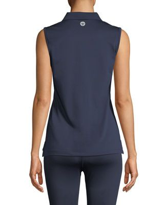 548f620230 Tory Sport Tech Pique Sleeveless Polo Top | Products | Athletic tank ...