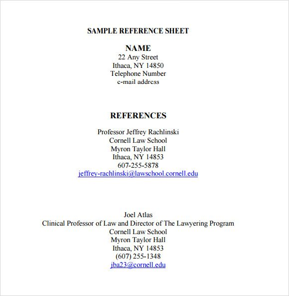 Professional reference list template word template pinterest professional reference list template word maxwellsz