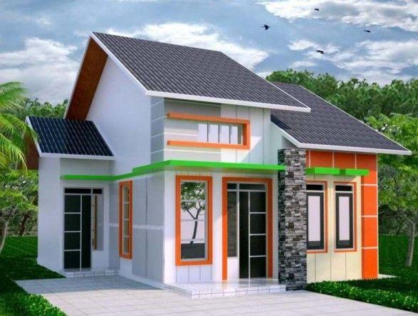 Contoh Gambar Desain Rumah Idaman Minimalis Sederhana Ala Pedesaan