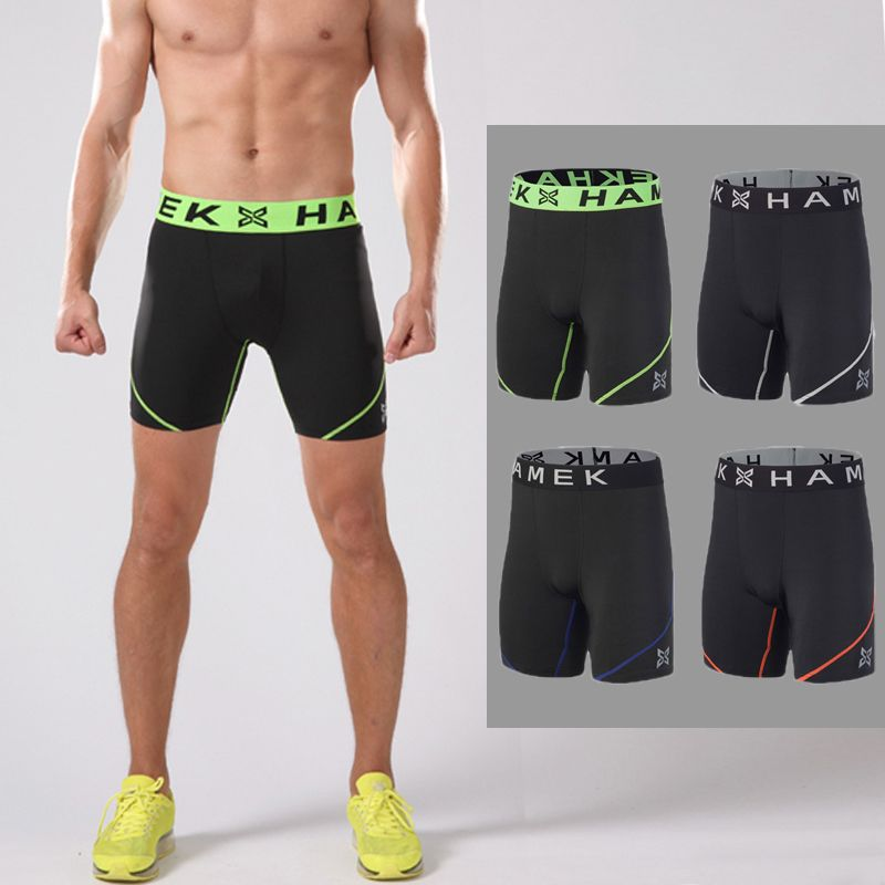 3b6cd4a46a Workout compression running shorts mens tennis sport running shorts gym  quick dry jogging fitness training tights running shorts
