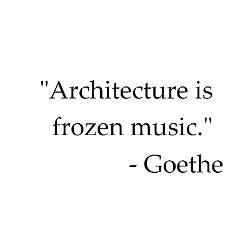 Architecture Goethe Afirmații Citate Arhitectură