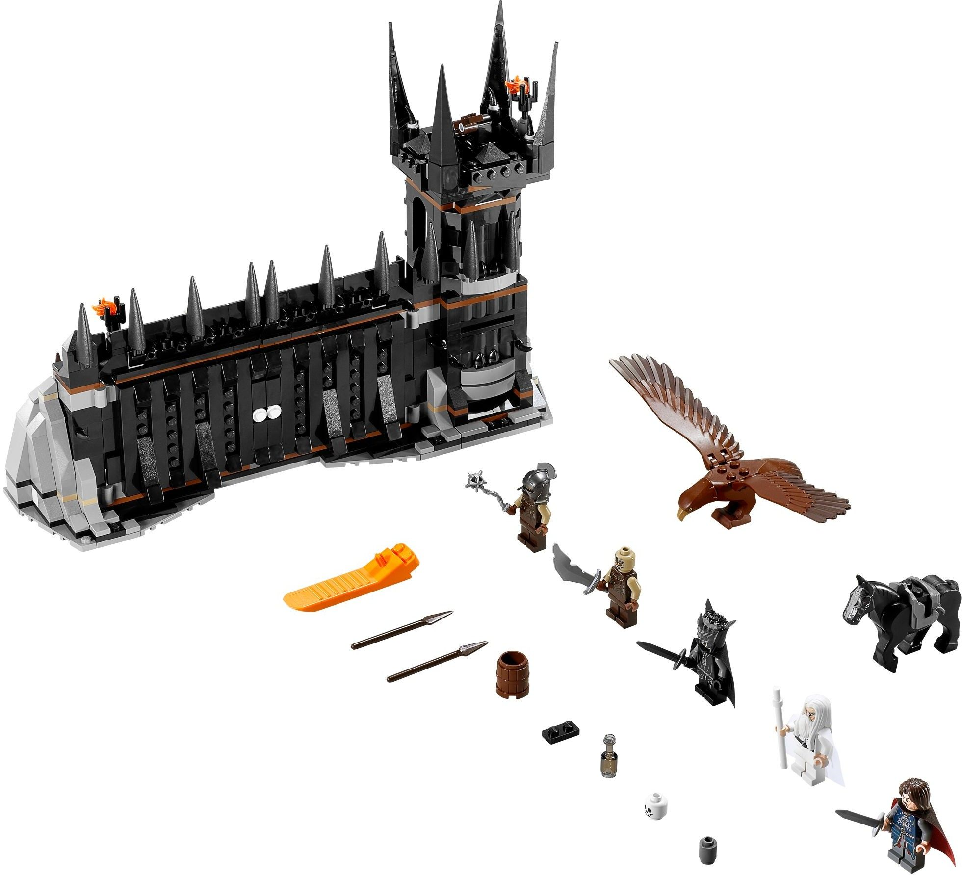 Lego Lord of the Rings LOTR New Sealed Set 79007 w Minifigs Black Gate Toy