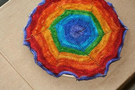 How to Knit a Pinwheel | Knitting, Pinwheels, Easy knitting