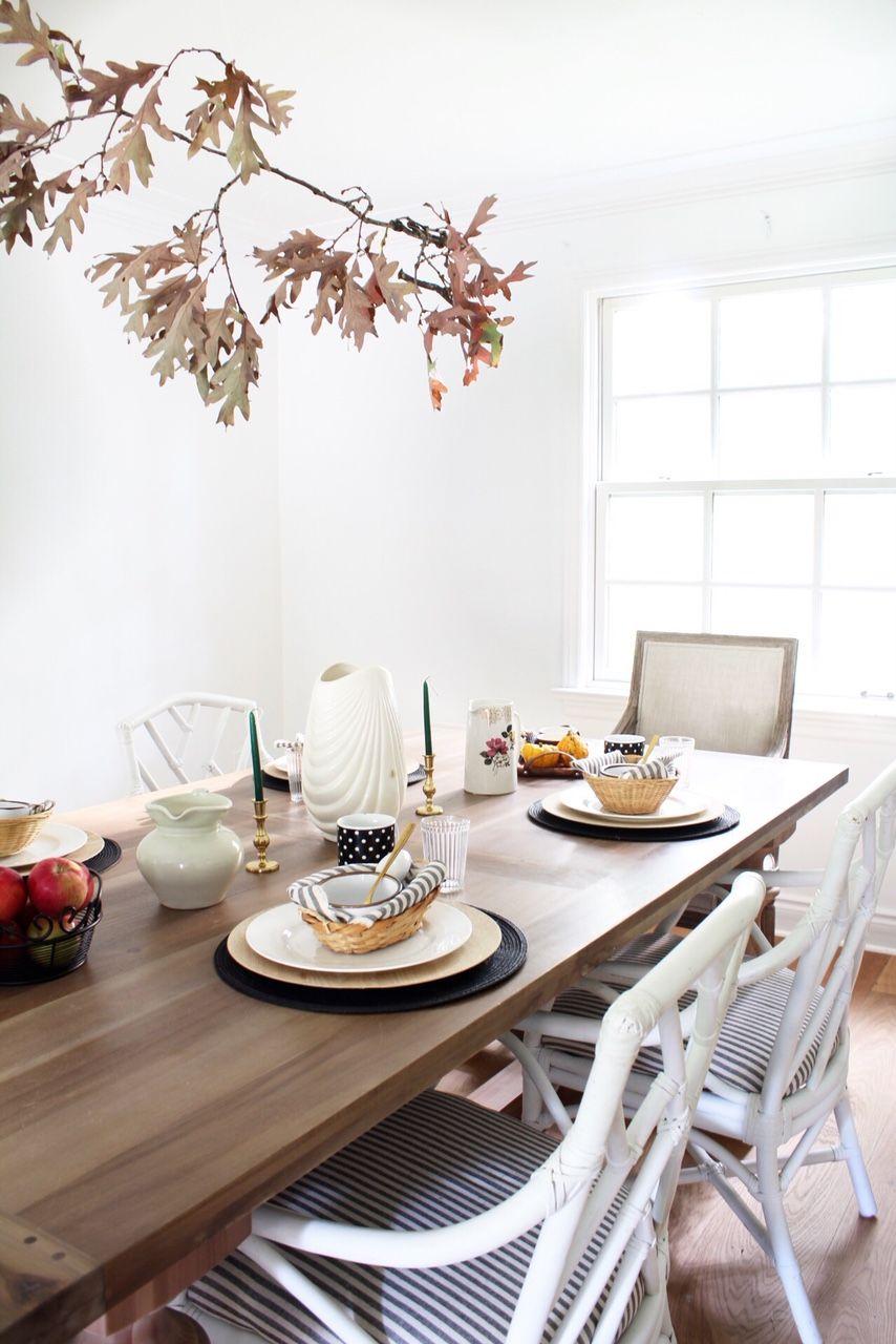 Thanksgiving Table for Brunch #thanksgivingtablesettings