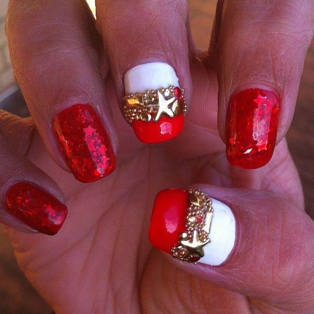 Nail Art Dan Extension Kuku: Instagram Photo By B_ricketts #nail #nails #nailart