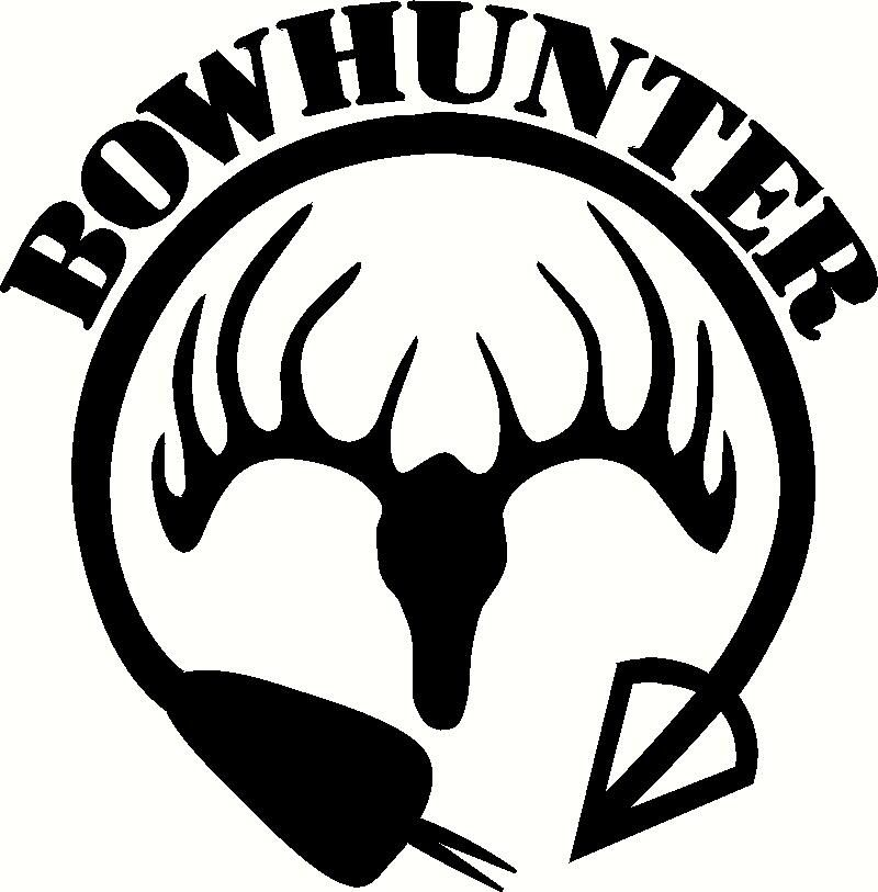 Bow Hunter 4x4 Vinyl Decal with