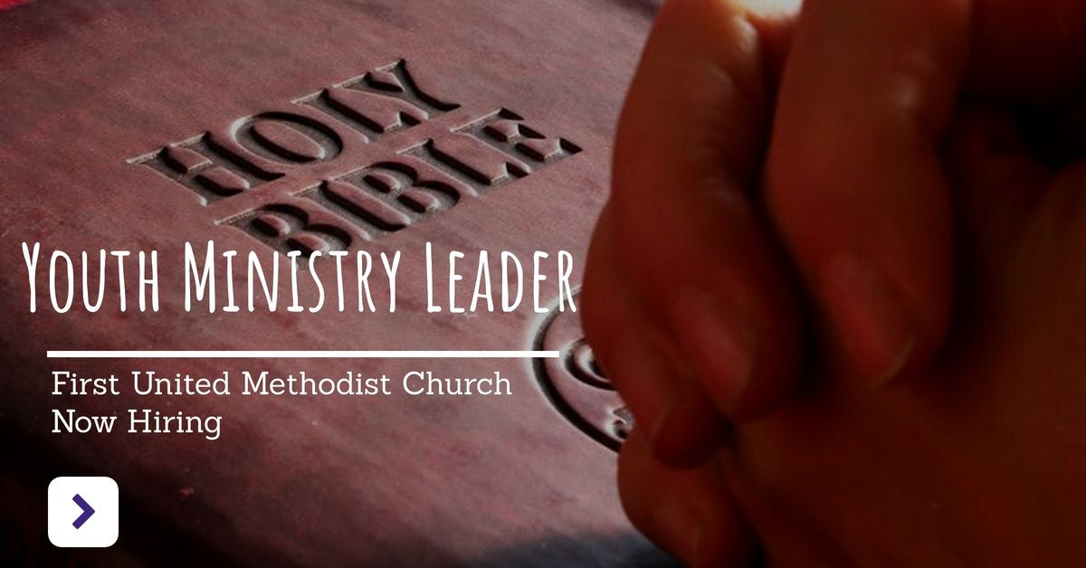 Youth Ministry Leader Community, Social Services