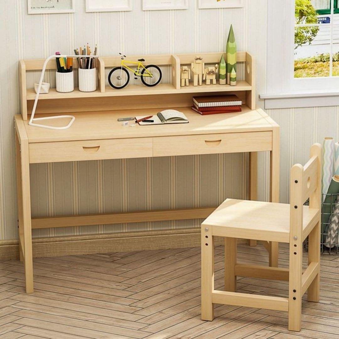 12 Wonderful Study Desk Design Ideas For Your Children Study Room Kids Study Desk Desk Design Study Desk