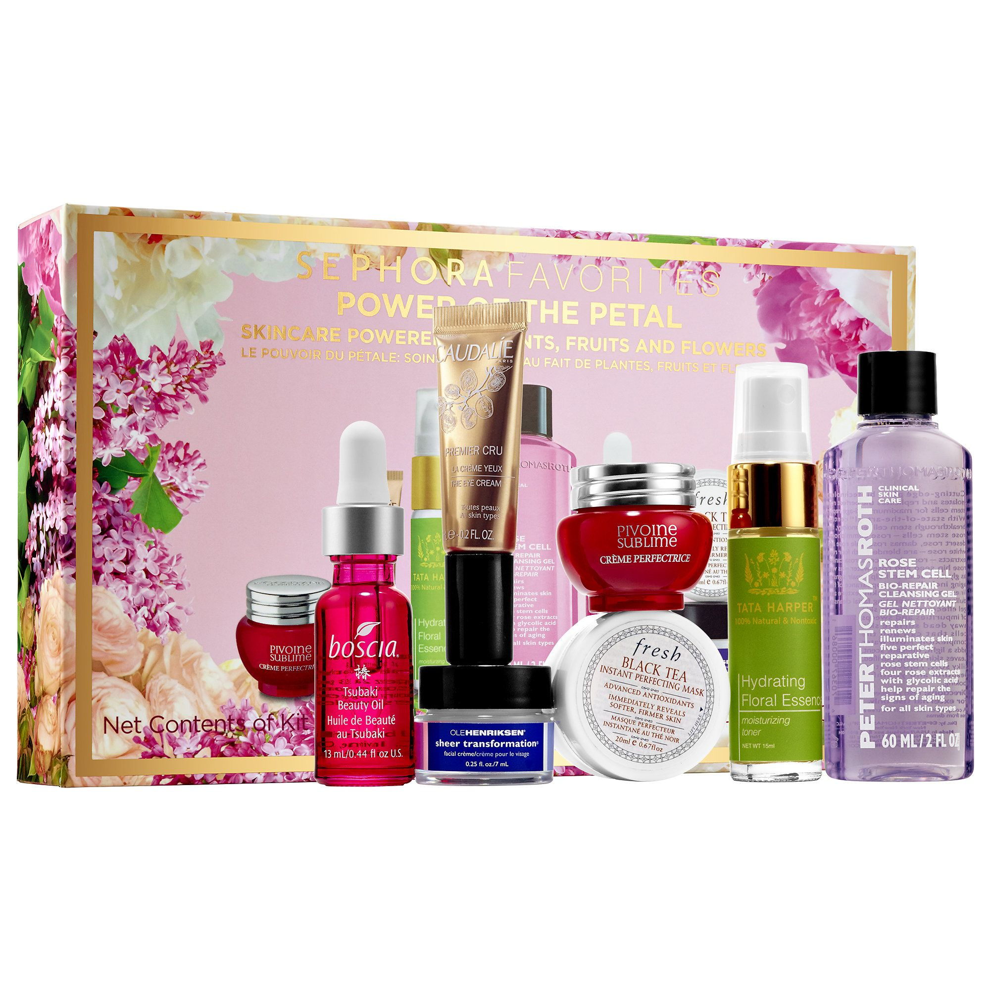 Sephora Favorites: Power of the Petal skincare set, new for