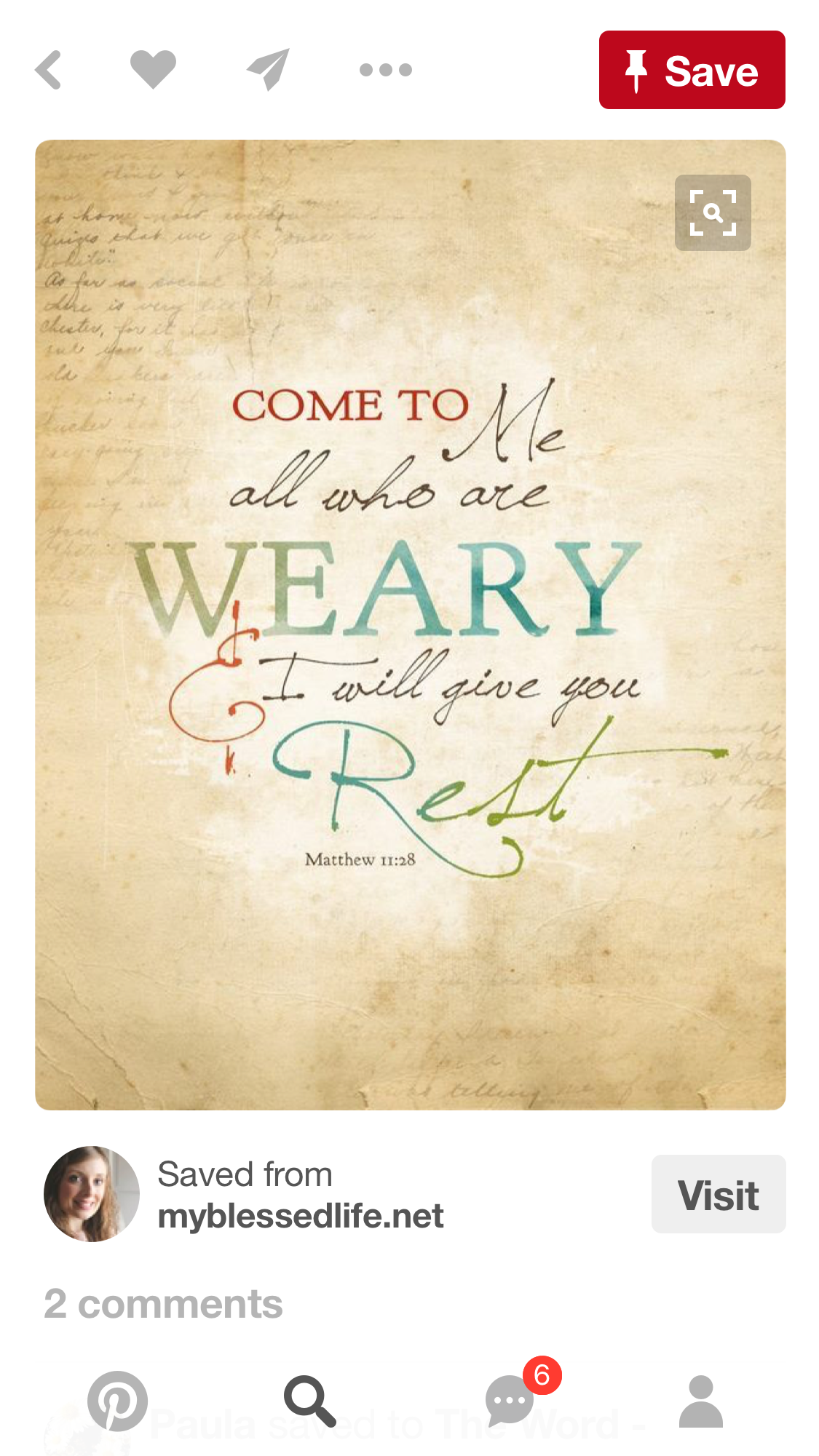 Download Come Unto Me All Who Are Weary... | Bible quotes ...