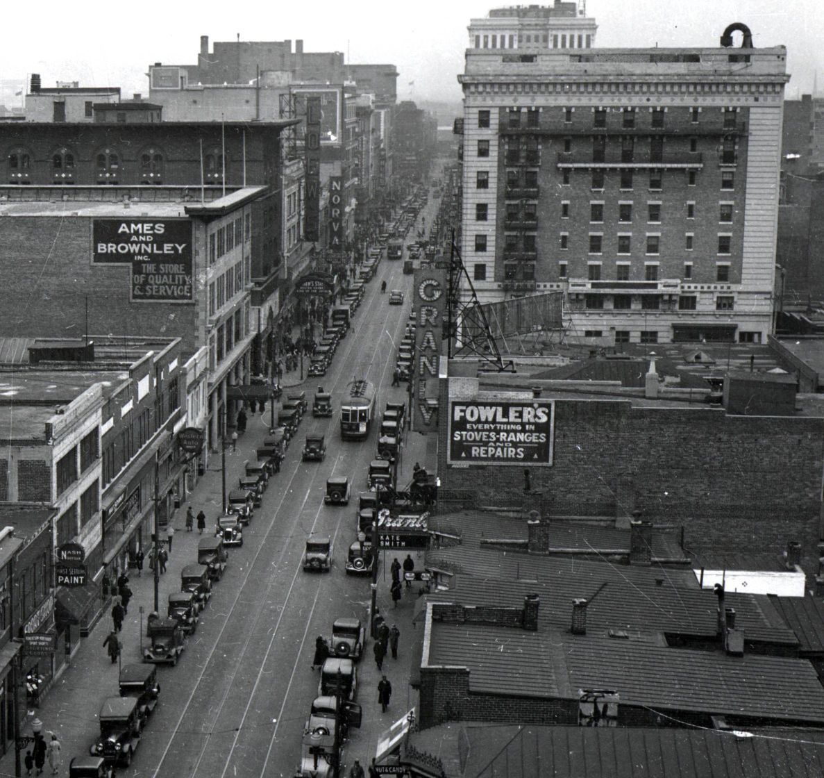 Granby St. March 4, 1933