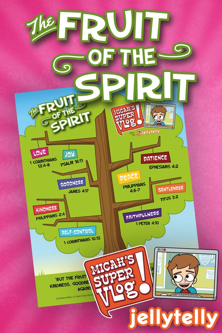 Teach your kids the Fruit of the Spirit with this free infographic ...