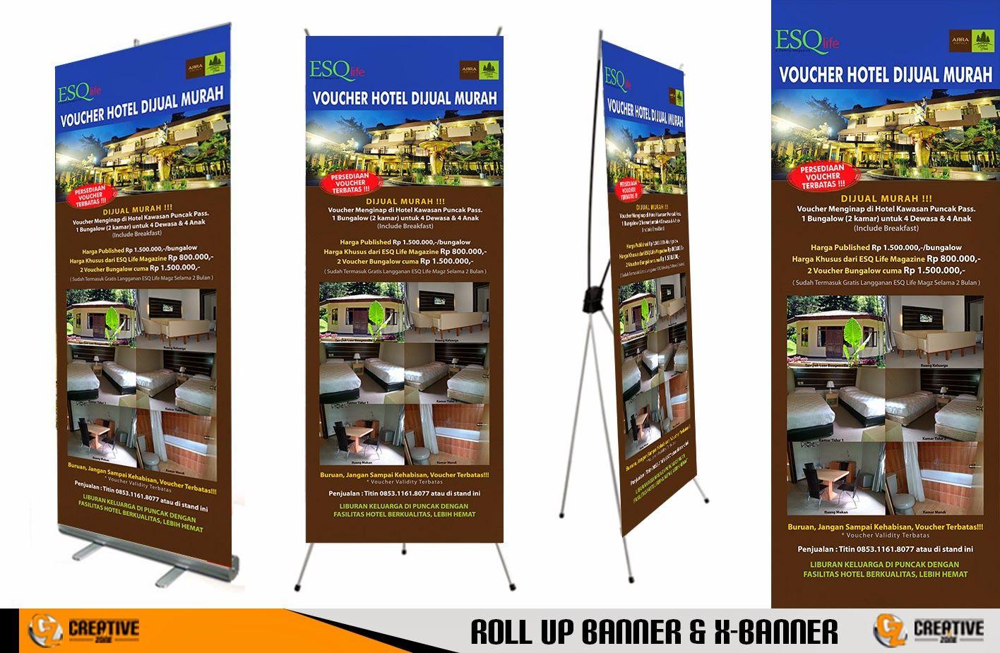 Contoh Desain Banner Jual Vocer Hotel Contoh Desain Banner Pinterest