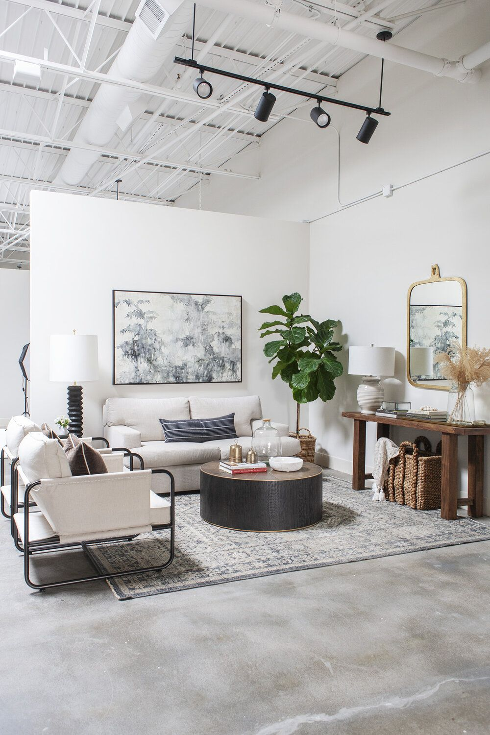 A place to call home with images round rug living room