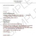 Contoh Surat Majikan Lettering Resume Personalized Items