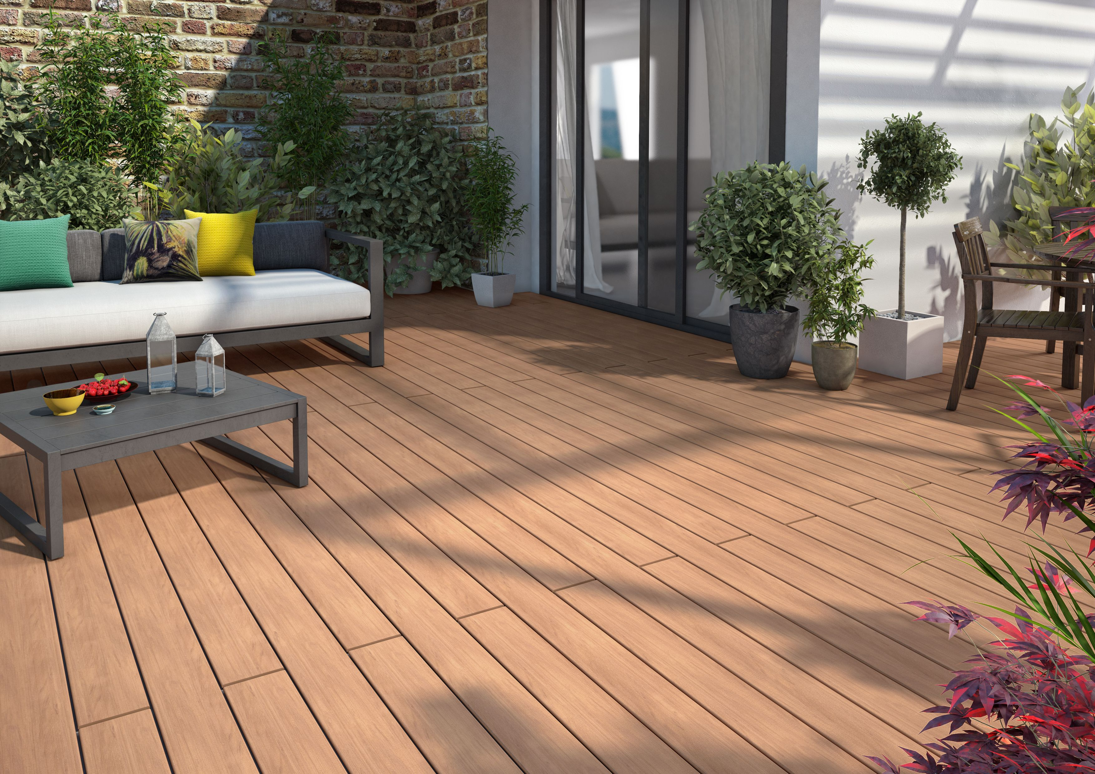 Silvadec Decking Terrace Home Wpc Silvadec Decking