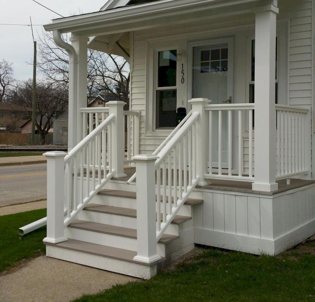 33 modern farmhouse front porch decorating ideas