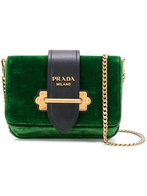 7216edae6cde Shop Prada Cahier convertible belt bag.