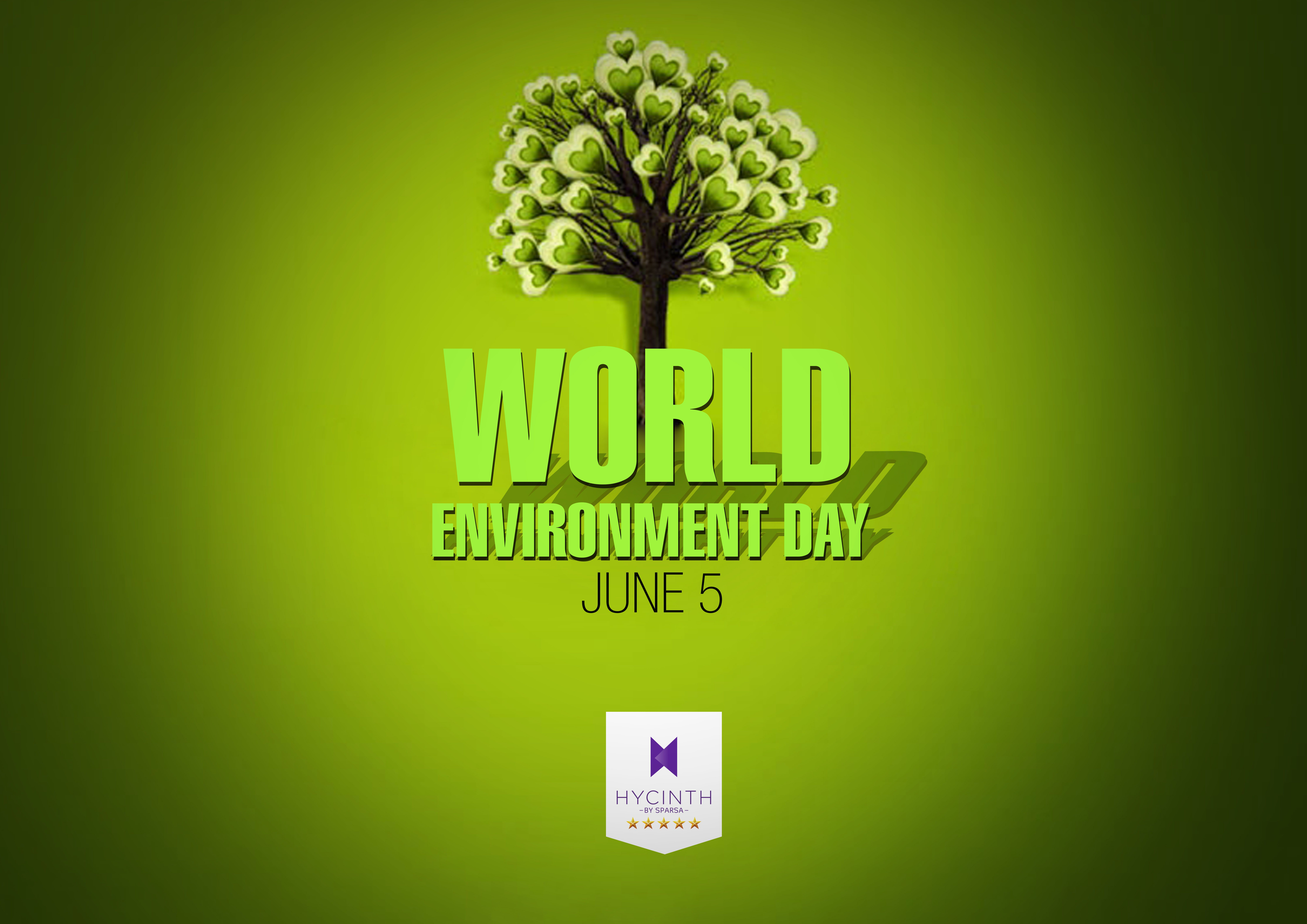 World Environment Day Motivates Us To Take Positive