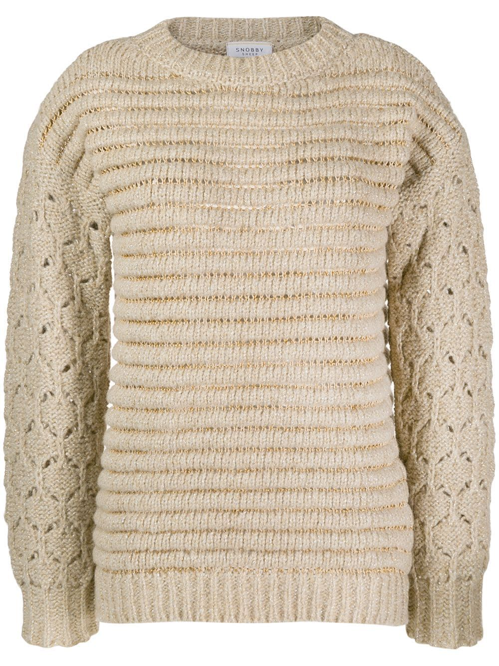 Snobby Sheep chunky knit jumper - NEUTRALS #chunkyknitjumper