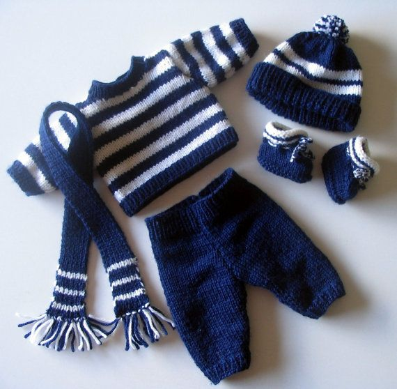 JoJo PDF Knitting Pattern for Doll Clothes to suit 16 – 17 inch / 40 – 43 cm Baby Dolls such as Baby Born