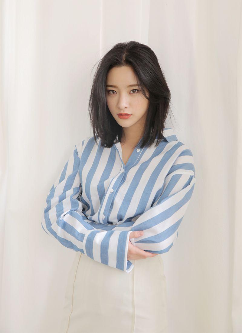 Byun Jungha - Byeon Jeongha - Model - Korean Model - Ulzzang - Stylenanda | Asian short hair