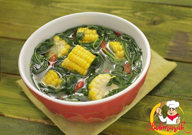 Resep Hidangan Sayuran Sayur Bening Bayam Makanan Sehat Untuk Diet Club Masak Makanan Sehat Masakan Sayuran