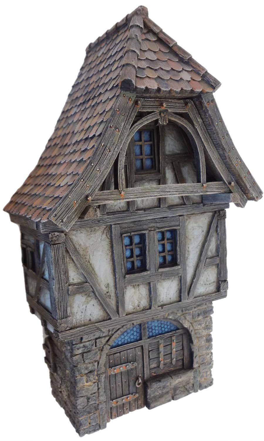A review of Stronghold Terrain's medieval/fantasy townhouse fronts, enriched with some mild eye candy and finished off with a plea for using...