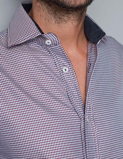 chemise en tweed chemises homme zara france cool. Black Bedroom Furniture Sets. Home Design Ideas