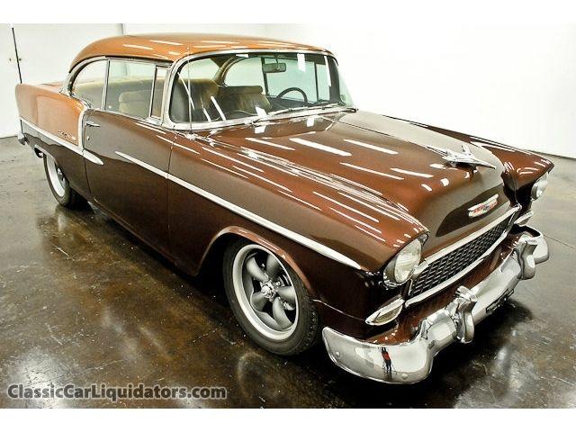 1955 Custom Chevy Bel Air 150 210 1955 2 Door Hardtop 350
