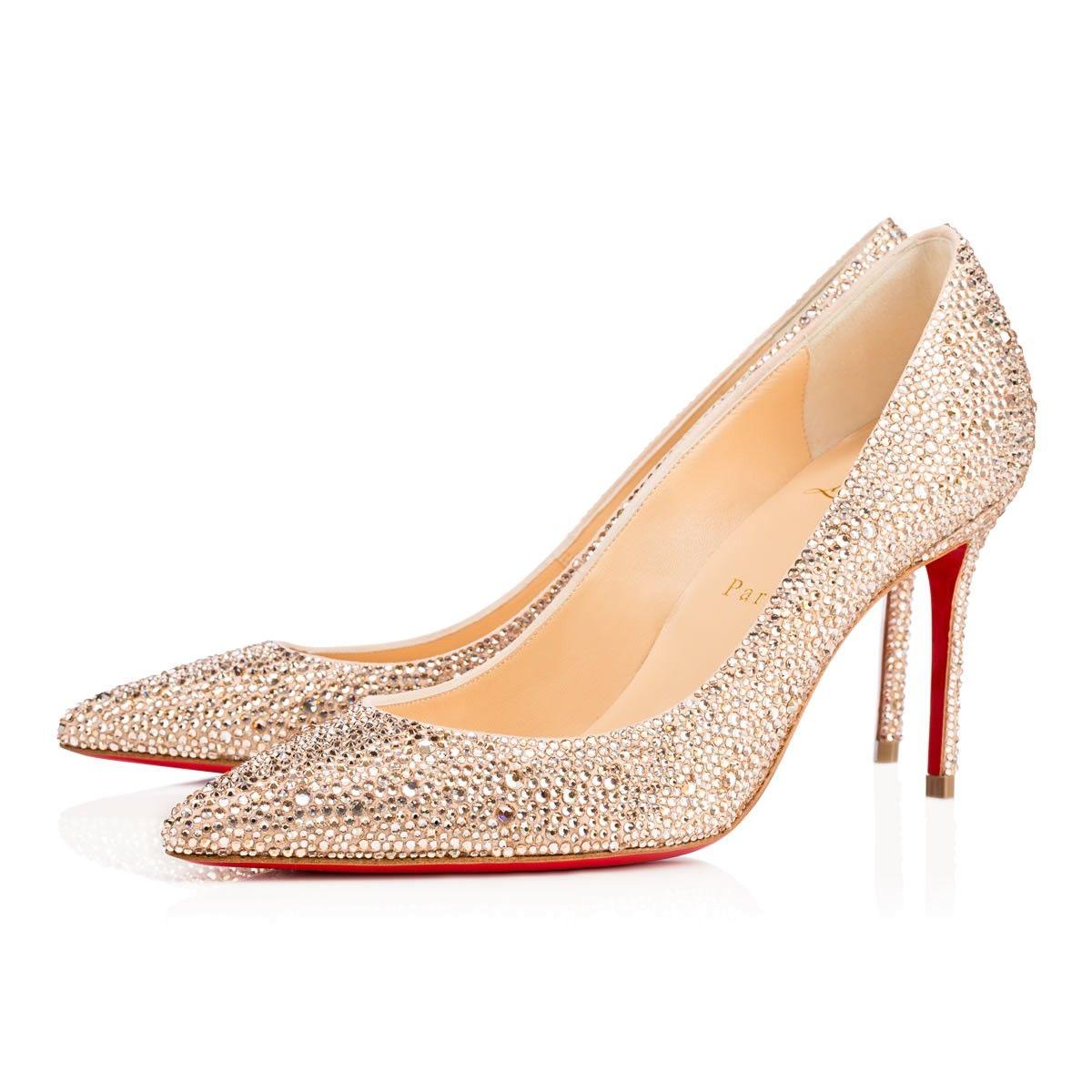 61ba8d1197f Fifille Glitter Givre 100 Perle Glitter - Women Shoes - Christian Louboutin