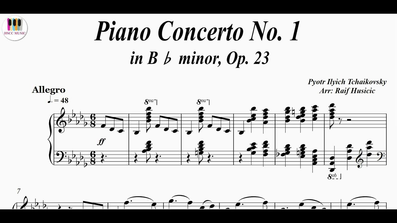 Piano Concerto No 1 In B Minor Op 23 Pyotr Ilyich Tchaikovsky Piano Https Youtu Be M2zbacwrcka
