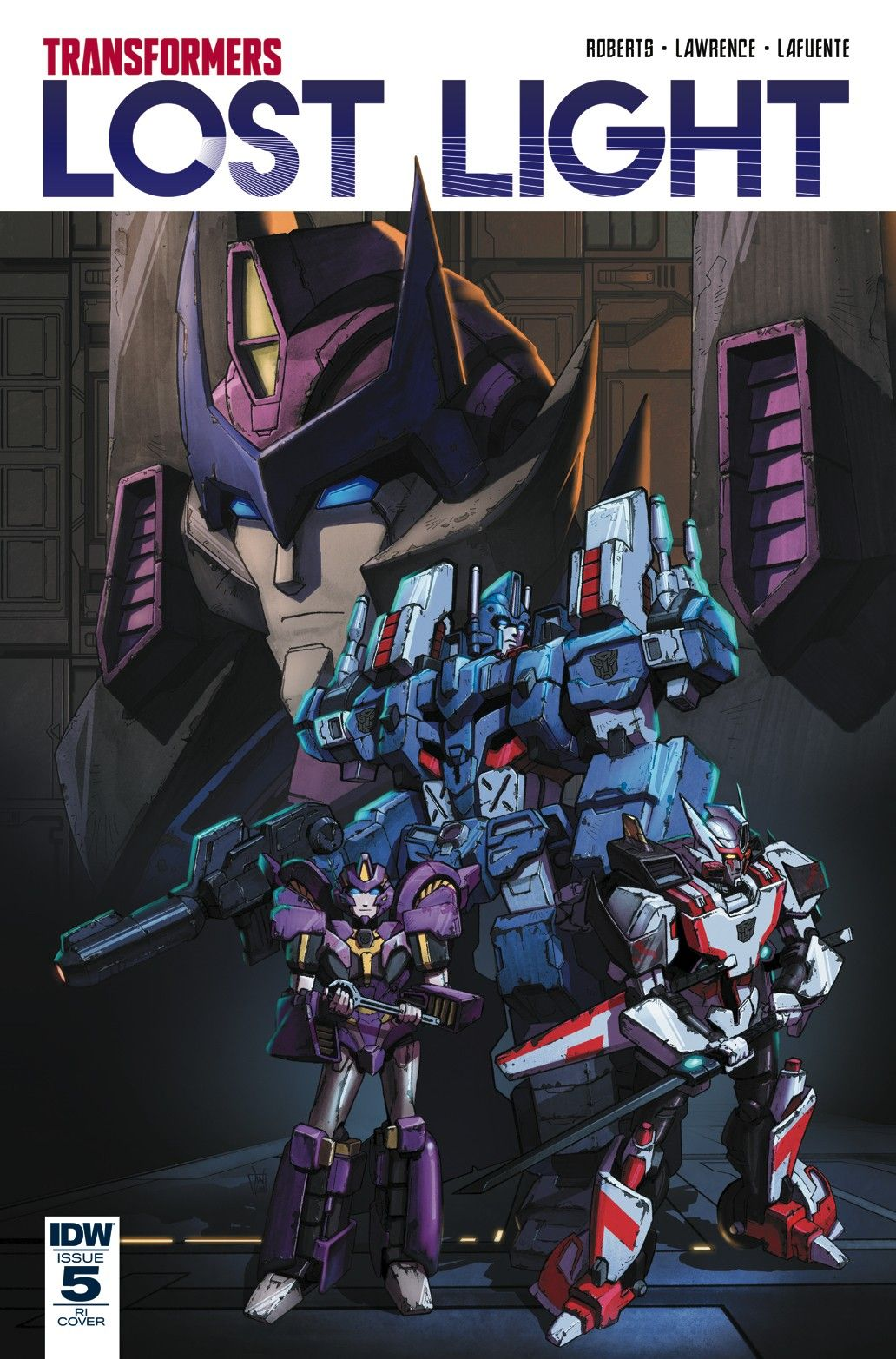 Transformers News IDW Transformers Lost Light 5 Variant
