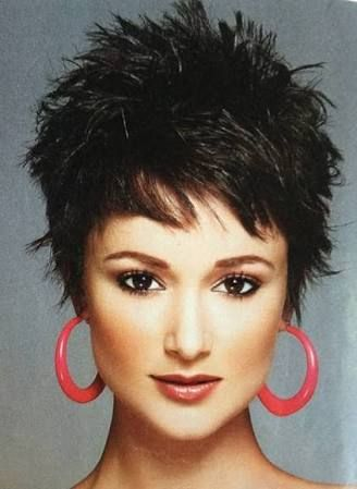short spikey hairstyles for women over 4050  google