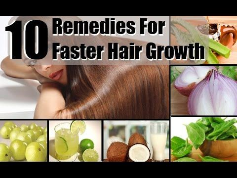 Homemade remedies for faster hair growth