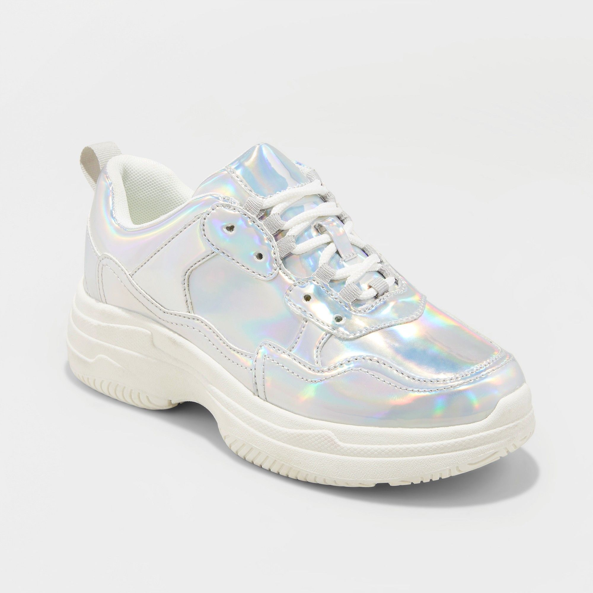 excellent quality look out for brand new Women's Maybelle Bulky Sneakers - Wild Fable Silver 5.5 | Shoes ...