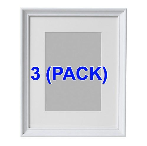 IKEA Photo Frame 5x7\' White wood (3 Pack) KNOPPANG ** Click on the ...