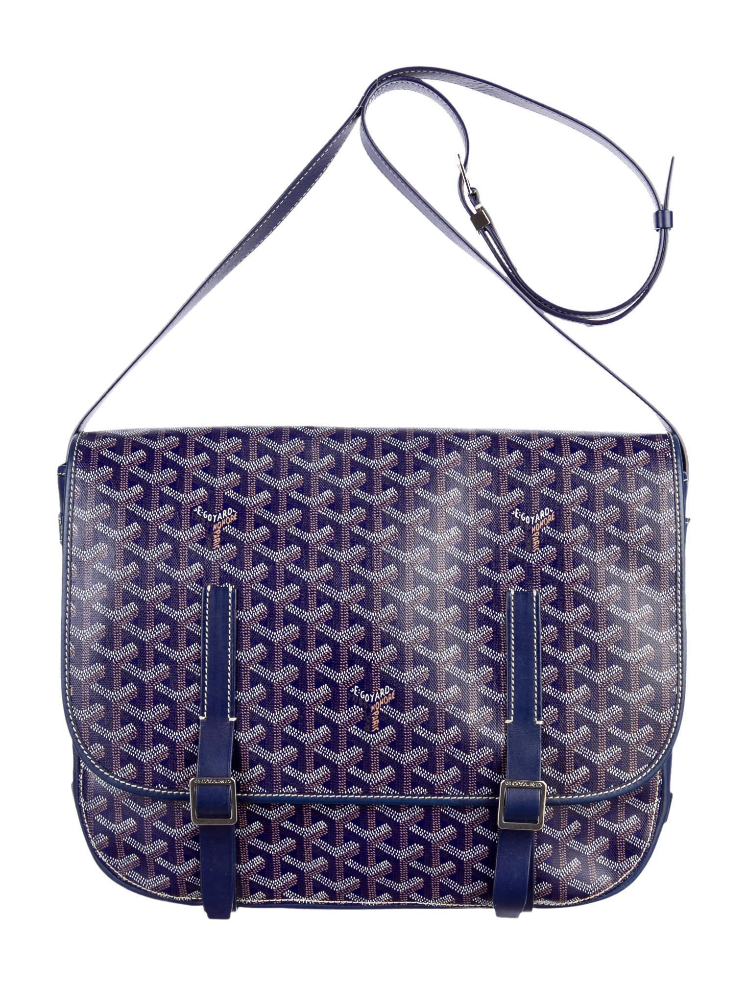 2555ef7eb6f8 Goyard Belvedere Messenger Bag