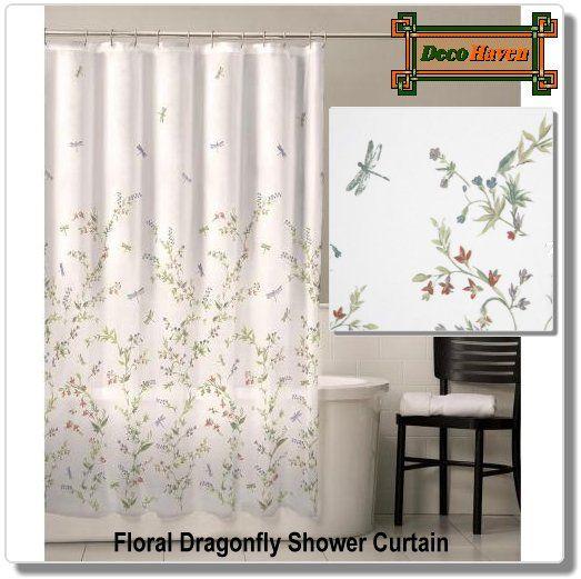Croft Barrow Dragonfly Valley 12 Pk Shower Curtain Hooks