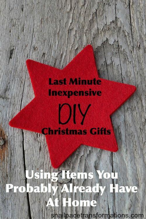 Last Minute Inexpensive Diy Gift Ideas Inexpensive Diy Christmas Gifts Quick Diy Christmas Gifts Inexpensive Diy Gifts