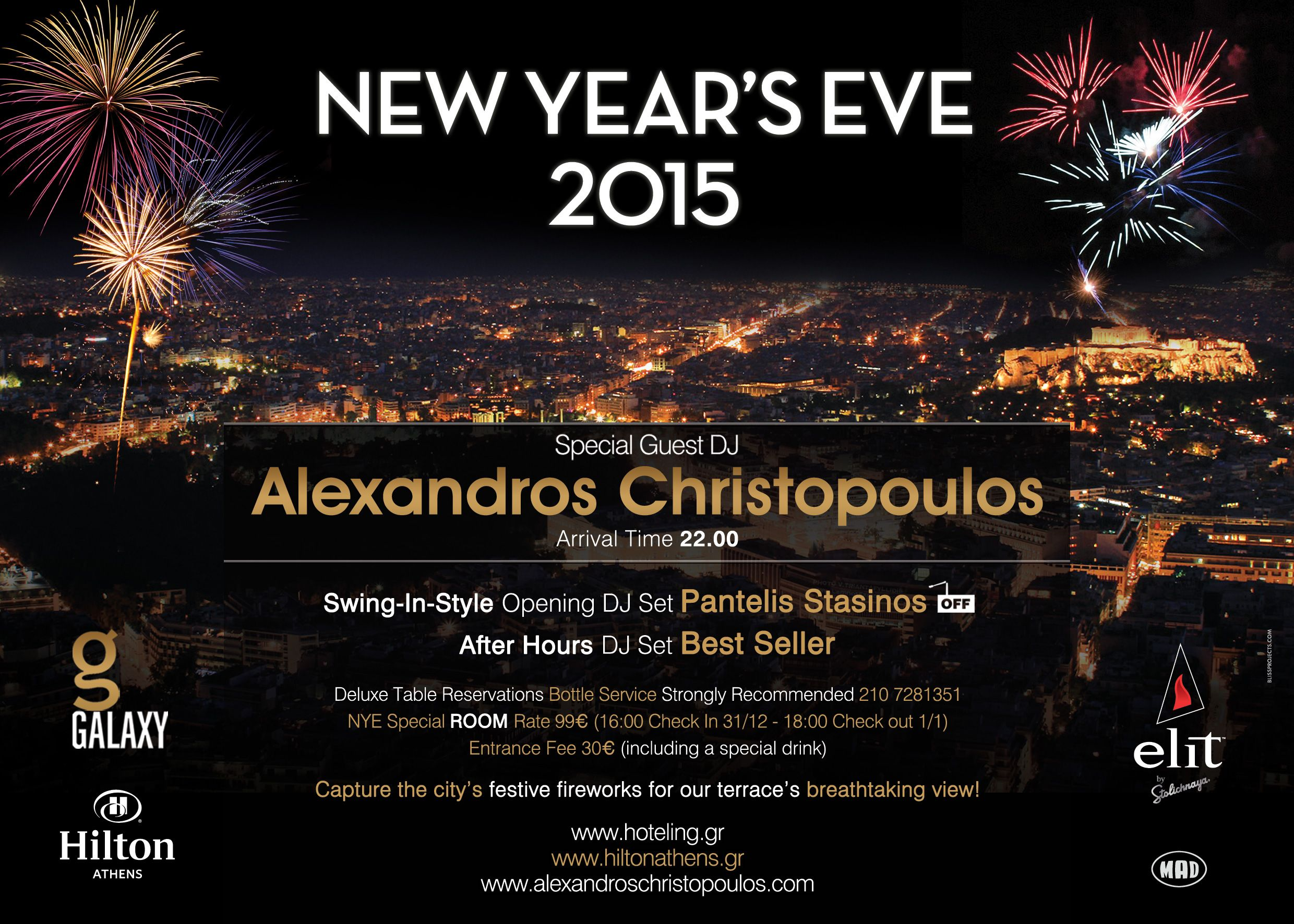 New Year S Eve In Galaxy Bar New Years Eve 2015 New Years Eve Special Guest
