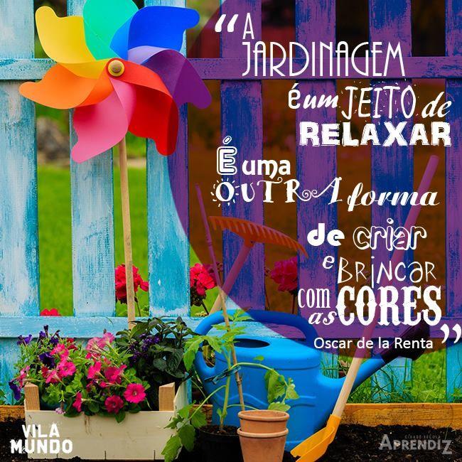 Cuide da sua mente como se fosse um Jardim!  imagem Vila Mundo