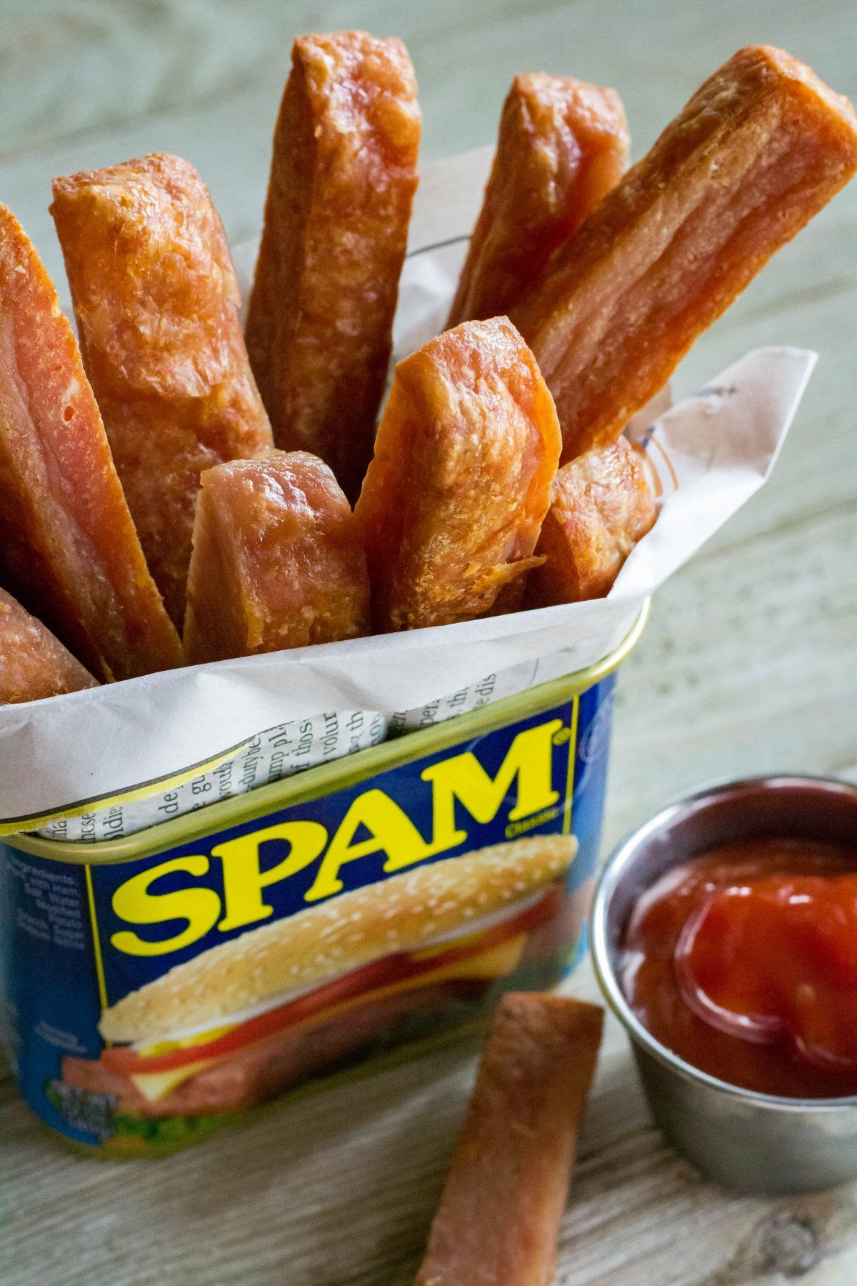 Air Fryer Spam Fries What the Forks for Dinner? Food