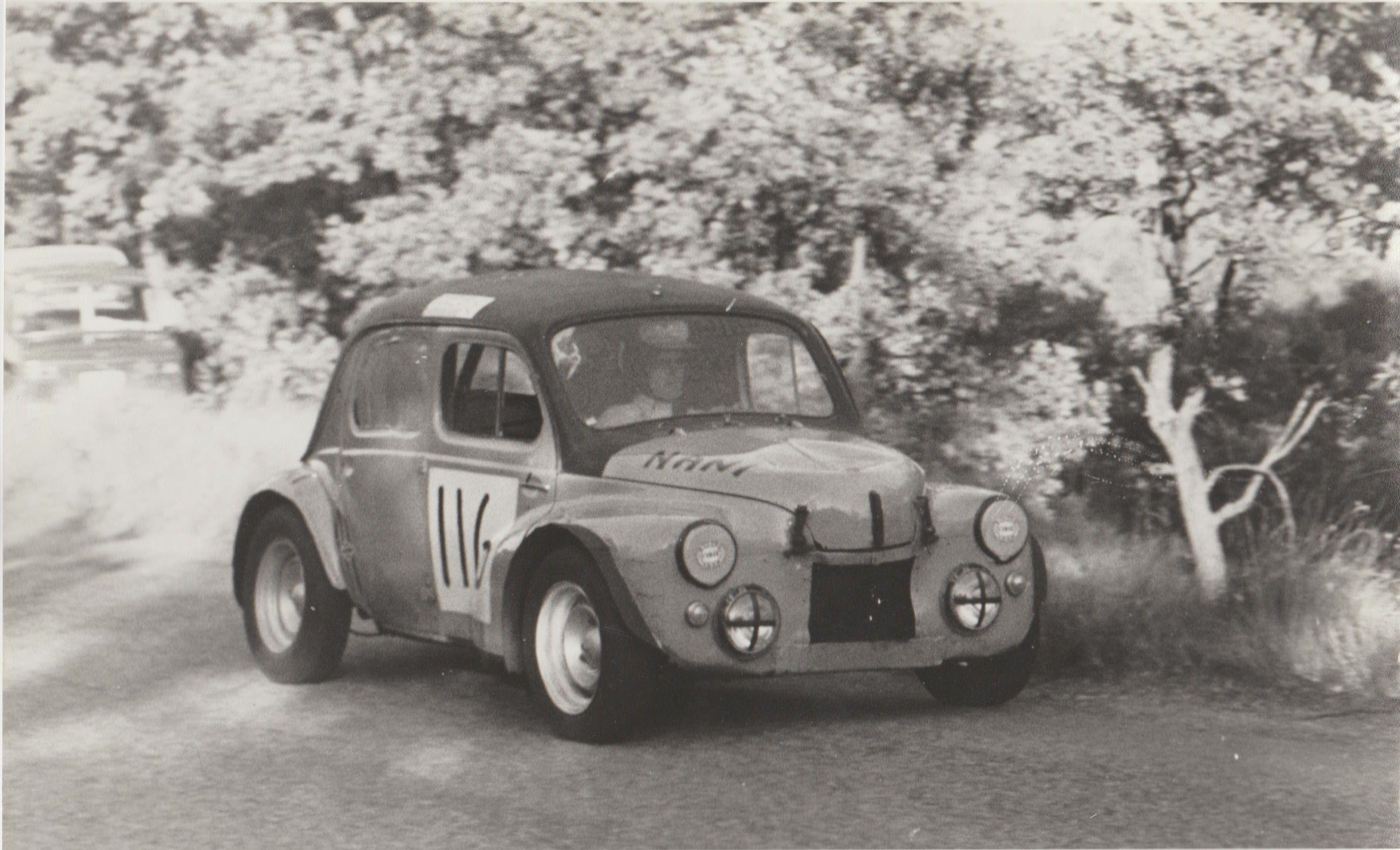 nani nerguti course de cote de manosque-montfuron en 1970