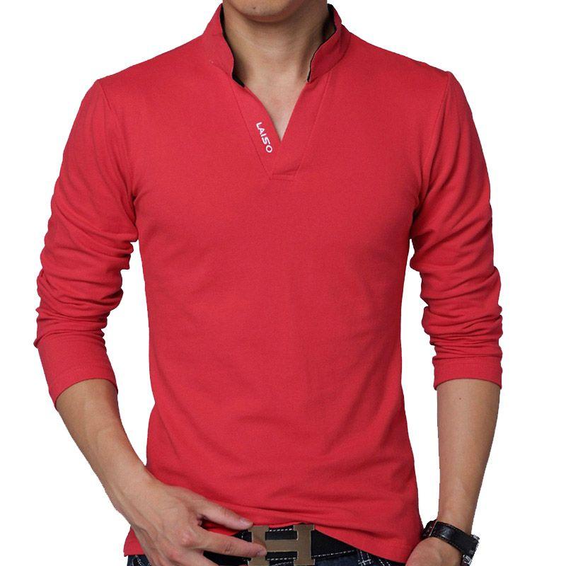 5156e22c81 Barato Camiseta esbelta manga longa colorida resistente