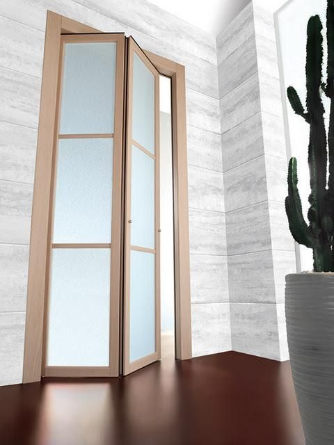 Puertas plegables en decoraci n doors bi fold doors and for Puertas plegables interior