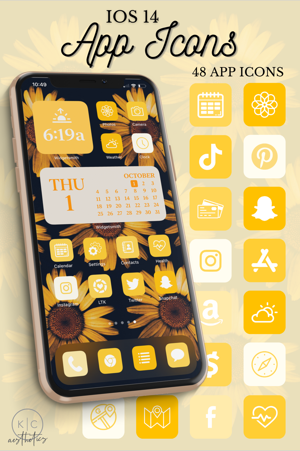 Ios 14 Icons Yellow Yellow App Icons Ios 14 Aesthetic Etsy In 2021 App Icon Iphone Icon Iphone Home Screen Layout Free calendar icons in various ui design styles for web, mobile, and graphic design projects. yellow app icons ios 14 aesthetic