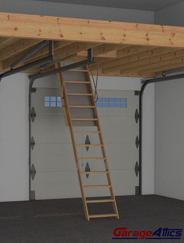 Garage Storage Loft   Perfect For Stacking Lumber. Garage LoftDiy ...