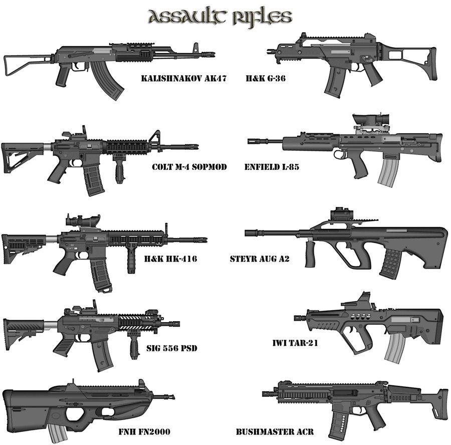 assault rifles NJ – Secrets of the Fed