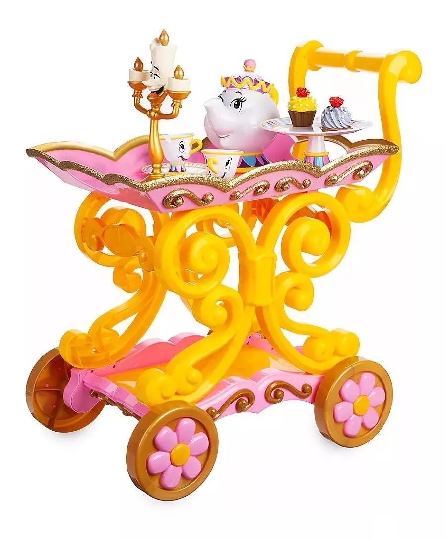 Carrito Té Bella Princesa Bella Original Disney Store 400 000 00 Coches De Juguete Para Niños Juguetes Caseros Para Niños Juguetes De Princesas Disney